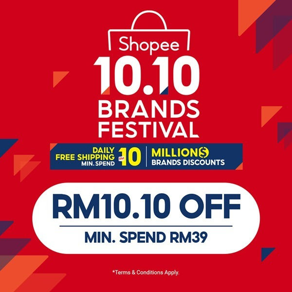 Shopee 10 10 Sale Malaysia 2020 Brand Festival Day 15 Hot Products