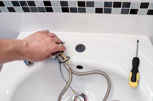Plumbing repair work